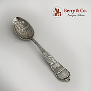 State Capital Denver Souvenir Spoon Sterling Silver 1900