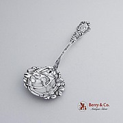 Good Luck Bon Bon Candy or Nut Spoon Sterling Silver Paye and Baker 1900