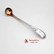 Tuscan Mustard Ladle Coin Silver W Kendrick, Louisville KY 1860
