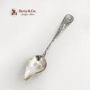 Mt Washington Citrus Souvenir Spoon Sterling Silver Durgin 1891