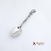 Philadelphia Souvenir Spoon Sterling Silver 1900