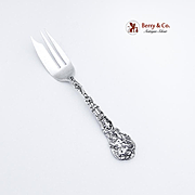 Versailles Pastry Fork Sterling Silver Gorham 1885
