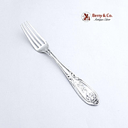 Coin Silver Youth Fork T Goldsmith 1870