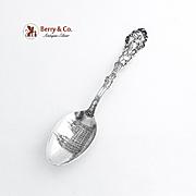 Salt Lake City Souvenir Spoon Mormon Temple Bowl Sterling Silver Gorham Silversmiths