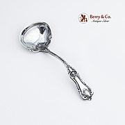 Federal Cotillion Cream Ladle Sterling Silver Frank Smith 1901