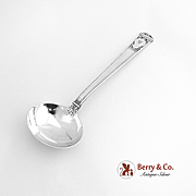 San Lorenzo Gravy Ladle Sterling Silver Tiffany and Co 1916