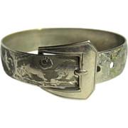 Victorian Buckle Bracelet, Beatrix Potter, Child's,  Animals