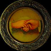 Glad Hand Soap, Chicago, Vintage Tag Medallion