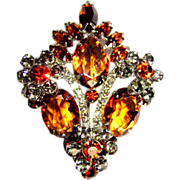 Juliana Rhinestone Brooch, D & E Over the Top