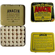 Anacin Tin, Large Purse, 30 Tablets