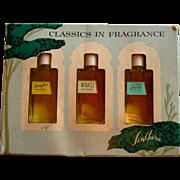 Tweed, Miracle, Shanghai, Lentheric Vintage Perfume Gift Set