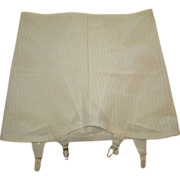 Vintage Girdle With Garters, 1950's