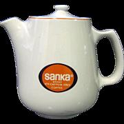 Hall China Restaurant Ware Coffee Pot Sanka