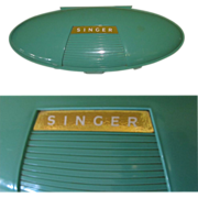 Singer Attachment Box, Atomic Sewing Machine