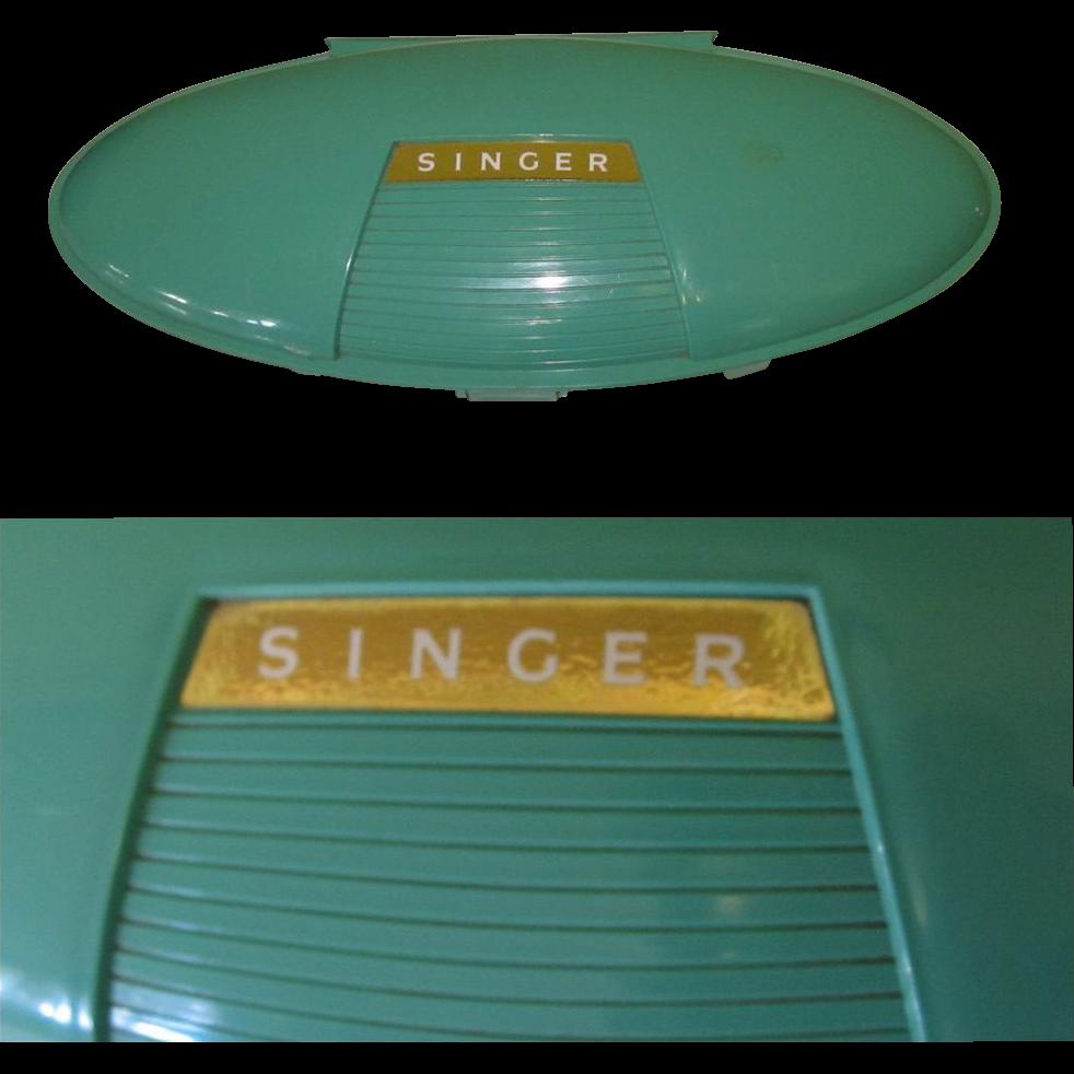 singer sewing machine box