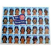 Chicago Cubs Team Picture, 1978 Individual Autographed Photographs
