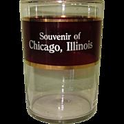 Ruby Flash Glass, Chicago Souvenir