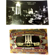 1933 Chicago World's Fair, Photographs, Art Deco Pack