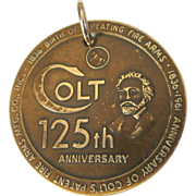 Colt Fire Arms 125th Anniversary Token 1961