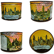 Whitman's 1940's Tin, Chocolates, Land, Air & Sea, WWII