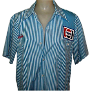 Pepsi Truck Driver Shirt, Vintage
