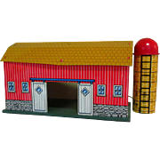Toy Barn, Tin Litho, Ohio Art, 1960's