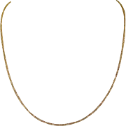 """Gold Filled Chain, Pretty, 20"""" Vintage"""