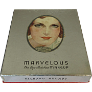 Vintage Makeup Box, Hudnut Marvelous, 1930's