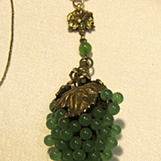 Antique Green Cluster of Grapes