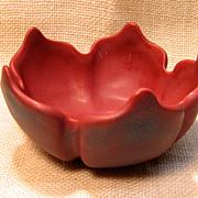 SOLD Outstanding Van Briggle Art Pottery Lotus Vase