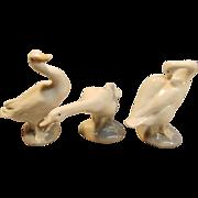 "Majestic Set of 3 ""Little Duck"" Figurines by Lladró"