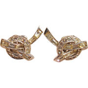 Classic & Sophisticated Marcel Boucher Clip On Earrings