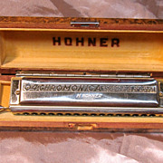 SOLD Vintage 64 Chromonica in the key of C by Hohner