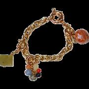Vintage Detachable Stone Fob Bracelet or Necklace Lengthener