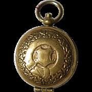Edwardian Sovereign Holder Pendant w Belt Design
