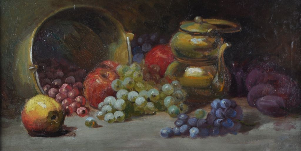 Arthur William Best Early 20th Century Still Life Oil Painting