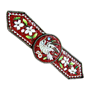 SALE Micro Mosaic Bird Pin