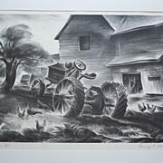 "Henry E Winzenreid(1892-1981)  ""Horse Power"""