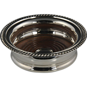 Vintage Georgian-Style Barker-Ellis Silver Plate Wine Coaster