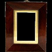 Fine Circa 1820 English Mahogany Picture Frame