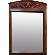 Flame Mahogany Formal Mirror