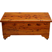 Vintage Natural Cedar Chest by Burrowes