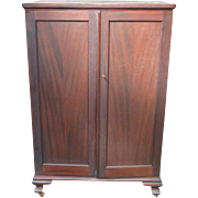 Mahogany Two Door Chiffonier Multi-Drawers