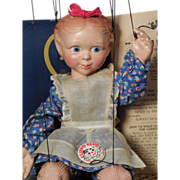 Emily Ann Marionette by Effanbee in Original Box