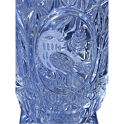 SALE Hofbauer West German Bryd Crystal Vase