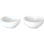 SALE Two Fire KIng Chili or Soup Bowls