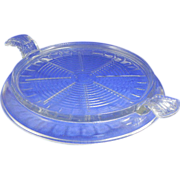SALE Fire KIng Glass Heat Resistant Serving Base