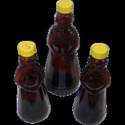 SALE Mrs Butterworth  Vintage Syrup Bottles  1980s