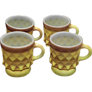 SALE Fire KIng Kimberly Stackable Oven Ware Mugs