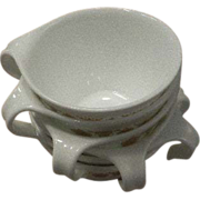 Butterfly Gold by Corning Ware  Six Oven Proof Cups
